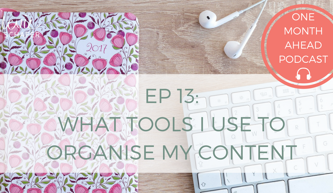 13. What Tools I Use to ORGANISE My Content