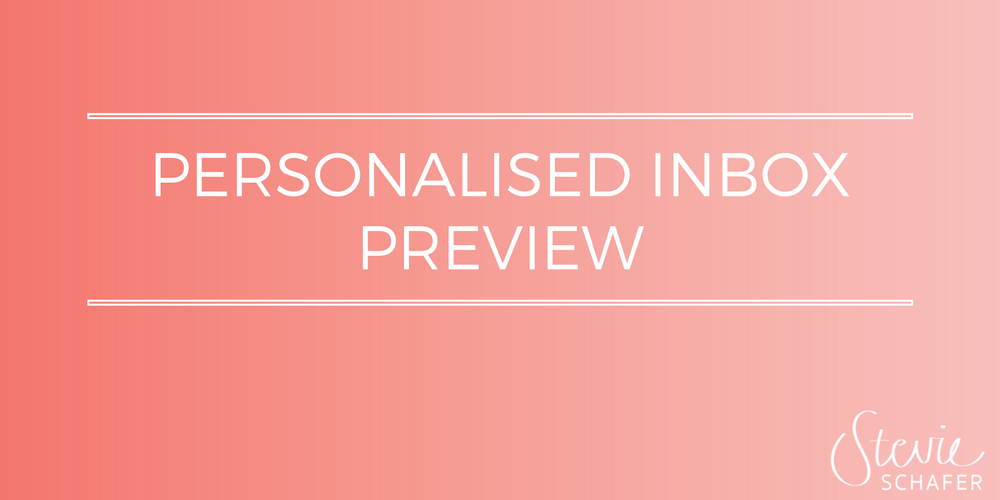 Make your emails a bit more personal with personalised inbox previews